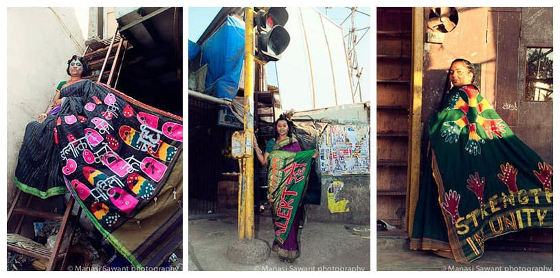 Dharavi Biennale's workshop PROVOKE/PROTECT